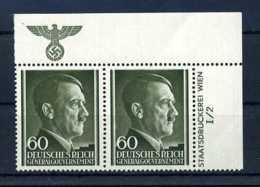 Z35292)GG 111, ER-Paar Mit Platten-Nr.** - Besetzungen 1938-45