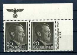 Z35354)GG 77 ER-Paar Mit Platten-Nr.** - Besetzungen 1938-45