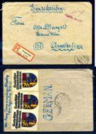 Z38747)Bizone Gebühr Bezahlt E-Brief Deggendorf 1946 - Bizone