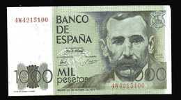 ESPAGNE  Billet De 1000 Pesetas   23 Octobre 1979 - [ 4] 1975-… : Juan Carlos I