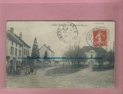 CPA - FONTAINES - Place De La Mairie - Altri Comuni