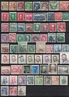 Czechoslovakia 1920 - 1990, Lot Of ± 135 Used Stamps (o), 3 Scans - Verzamelingen & Reeksen