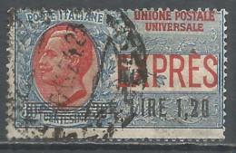 Italy 1921 Year, Used Stamp , Michel # 136 - 1900-44 Vittorio Emanuele III