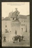 CP-Chateauneuf De Randon - Statue Du Connétable Duguesclin - Chateauneuf De Randon