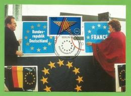 BRD 1992  Mi.Nr. 1644 , EUROPA  CEPT Sympathie Mitläufer - Maximum Card - Stempel Berlin 5.11.1992 - Maximum Cards