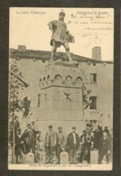 CP - LOZERE-48 - Chateauneuf De Randon - Statue De Duguesclin Le Jour L'Inauguration - Chateauneuf De Randon
