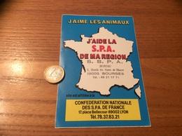 AUTOCOLLANT, Sticker «J'AIME LES ANIMAUX - J'AIDE LA SPA DE MA RÉGION - LYON (69)» - Autocollants