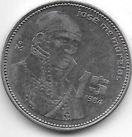 Mexico 1 Peso 1984  Km 495    Unc - Mexique