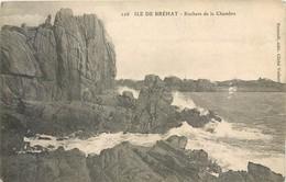 3 CPA 22 Côtes D'Armor Du Nord Ile Isle De Bréhat Rochers De La Chambre + Phare Du Paon Gouffre Pierre Branlante - Ile De Bréhat