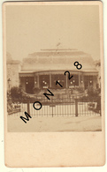 VICHY- LE CASINO  -PHOTO COLLEE SUR CARTON 6,5x10,5 Cms - Fotos