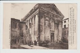 VIENNE - ISERE - LE TEMPLE D'AUGUSTE ET DE LIVIE VERS 1830 - D'APRES GRAVURE DE L'EPOQUE - DESSIN - Vienne
