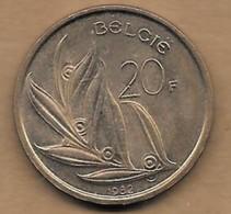 20 Francs 1983 FL - 07. 20 Francs
