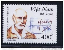 Viet Nam Vietnam MNH Perf Stamp 1994:Centenary Of Discovery Of Bacterium Of Bubonic Plague Bacillus / Dr. Yersin (Ms686) - Vietnam