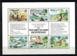 Pitcairn Islands 1990, Bicentenary Of Settlement, Bounty **, MNH - Pitcairneilanden