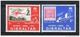 Gibraltar 1970. Yvert 236-37 ** MNH. - Gibilterra