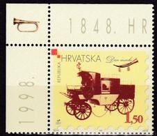 Kroatien, 1998, 482, Tag Der Briefmarke MNH ** - Croatie