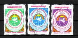 354b * KAMPUCHEA * FORUM FOR PEACE * GESTEMPELT ** !! - Kampuchea
