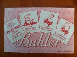 Buvard   BUHLER  Brillant Pour L'argenterie,salle De Bain - Buvards, Protège-cahiers Illustrés