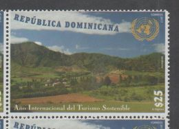 DOMINICAN REPUBLIC, 2017, MNH, INTERNATIONAL YEAR OF SUSTAINABLE TOURISM, MOUNTAINS, 1v - Other