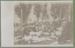 Carte Photo - HAUTE GARONNE - LUCHON 1912 - PIQUE NIQUE - BELLE ANIMATION - - Luchon