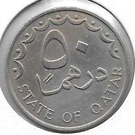 *qatar 50 Dirhams 1973 Km 5 Xf++ - Qatar