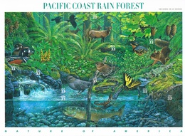 Etats-Unis - Forêt Tropicale Humide De La Côte Pacifique 3028/3037 (année 2000) ** - Etats-Unis