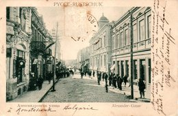 PYCCE - RUSTSCHUK --- ALEXANDER - GASSE - - Bulgarie