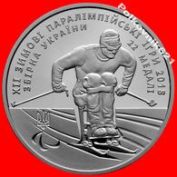 Ukraine, 2 Hryvnia 2018 XII Winter Paralympic Games - Ukraine