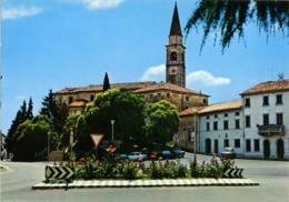 CAPPELLA MAGGIORE  TREVISO  Piazza Vittorio Veneto  Campanile  Auto  Insegna Sali E Tabacchi - Treviso
