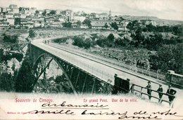 SOUVENIR De TIRNOVO - LE GRAND PONT - VUE De LA VILLE En 1905  - - Bulgarie