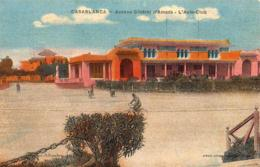 MAROC  CASABLANCA  Avenue Général D'Amade- L'Auto-Club - Casablanca