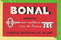 BUVARD & Blotting Paper :Aperitif BONAL - Liqueur & Bière