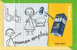 BUVARD & Blotting Paper :Maman Emploie La Poudre NAB - Produits Ménagers