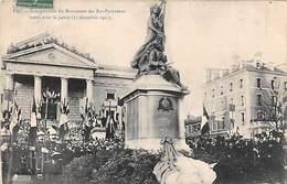 Pau       64        Inauguration Du Monument Des Bas Pyrénéens Morts Pour La Patrie  Décembre 1912 .      (voir Scan) - Pau