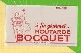 2 BUVARDS & Blotting Paper :Moutarde BOCQUET  2 Buvards - Moutardes