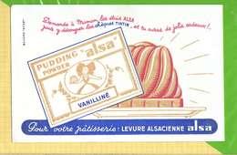 BUVARD & Blotting Paper :Levure Alsacienne ALSA - Cake & Candy
