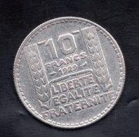 France Argent 10 Frs Turin 1929 - Frankreich