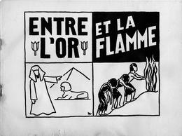 """""""Entre L'or Et La Flamme"""" Drame Biblique Pour Enfants En Trois Actes. Rachel Minc Et Hélène Simonet - Books, Magazines, Comics"""