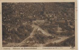 AK 0114  Hamburg - Millerntor Mit Bismarckdenkmal / Fliegeraufnahme Um 1922 - Mitte