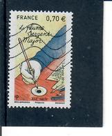 Yt 5098 La Plume Du Sergent Major-main-encrier - France