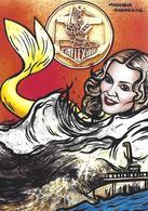 CPM Sous Marin L'inflexible Madonna Mermaid Jihel Tirage Signé 30 Ex. Numérotés Signés Sirène - Submarines