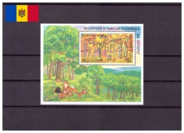 Moldavie 1999 - MNH ** - Europa - Nature - Arbres - Michel Nr. Bloc 18 (mda016) - Moldova