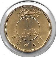 *kuwait 1 Fils 1962 Km 9   UNC - Koweït