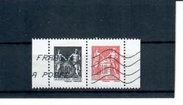 Yt 5096 & 5097 Attaches Type Sage Obliteres - France