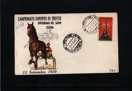 Italien / Italy 1959 Cesena Europa Horse Races Championship - Reitsport