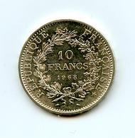 10 Francs Argent 1968 - Hercule + Liberté + Egalité - état Neuf De L'achat Initial - France