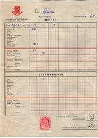 VP13.761 - Facture - 1959 - Hotel / Restaurante - Colonotel BARCELONA - Espagne