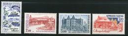 FRANCE     Série Touristique     N° Y&T  2193 à 2196  ** - Neufs