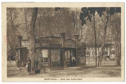 CPA Montargis Gare Des Autocars - Montargis