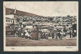 Macédoine. Veles . Carte Avec Cachet Militaire Feldpost Et S B Pour Markirch Ou Sainte Marie Aux Mines - Macedonia